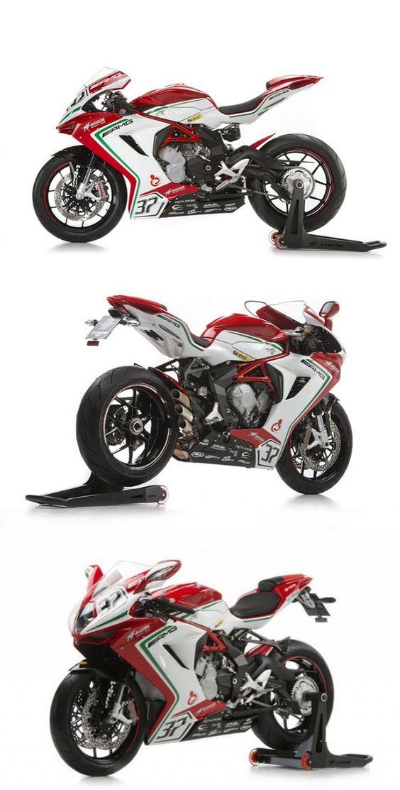 MV Agusta unveils new F3 RC Limited Edition bikes #MVAgustaF3RC