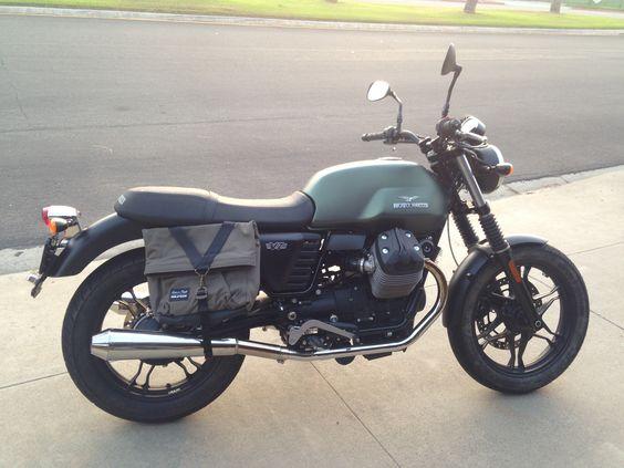 My Myrtle . Moto Guzzi V7 Stone.