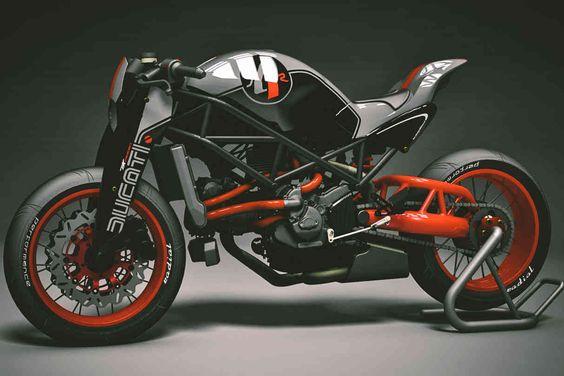 Naked Ducati by KBike Factory Custom Motorcycle //