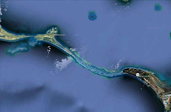 NASA Images Find  Million Year Old Man-Made Bridge - take a look!