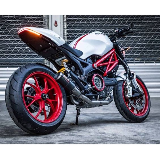"""@newragecycles Ducati Monster 696, 796 and 1100 Fender Eliminator Kit. What do you think? Interested? Get more info - click the link in the New Rage…"""