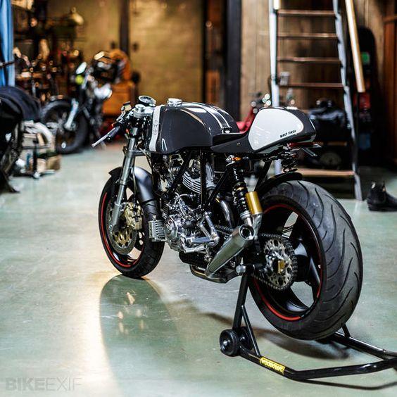 Nice custom Ducati Sport Classic.