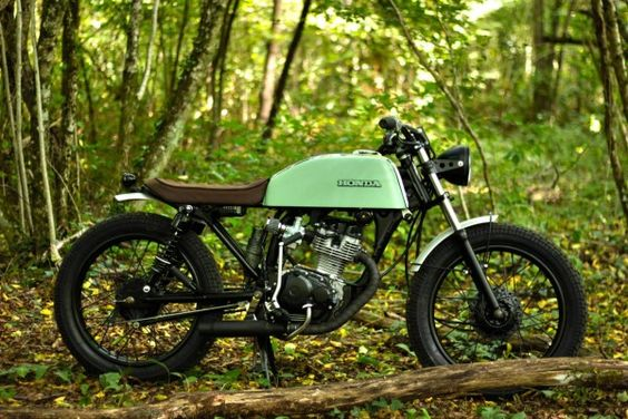 Nice Honda CG125 by FrenchMonkeys: