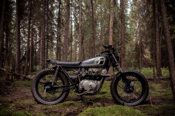 Not a cx - nice seat  CB360 by Federal Moto | Bike EXIF