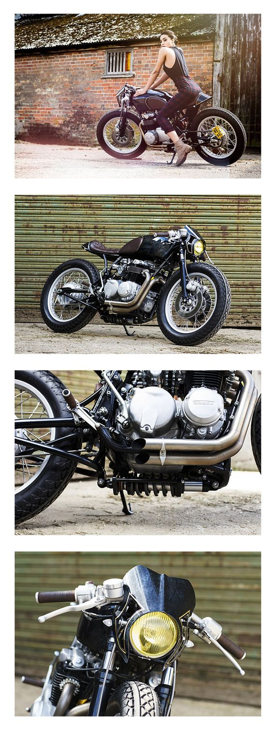 OEM Ripon Honda CB 550 Café Racer Old Empire Motorcycles