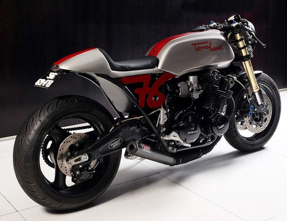 Oil In Our Veins - Sameiro's Bol D'Or Tomahawk ~ Return of the Cafe Racers