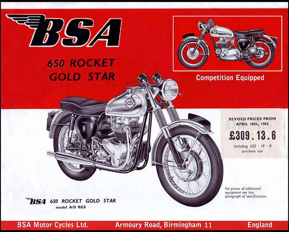 old motorcycle ads - Google Search