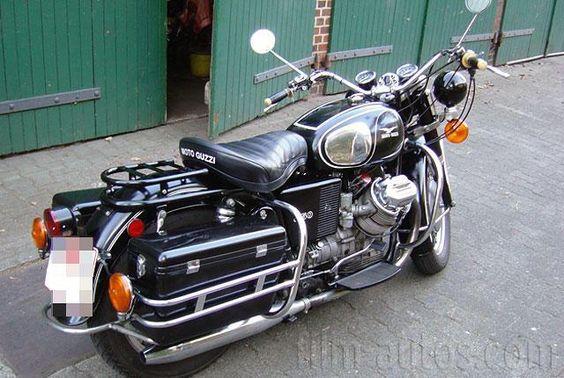 Oldtimer Moto Guzzi V7 850 Eldorado zum Mieten