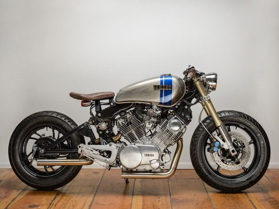 One of the coolest cafe racers I've seen in a