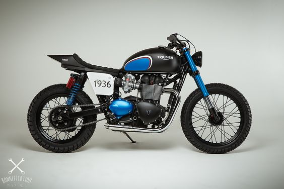 Only a stranger to Bonnefication and the custom and modified Triumph scene would be unaware of the Barbour A225 Scrambler – a custom Triumph Twin which was on show at last years BSMC event at London's Tobacco Docks. This year, Triumph and Barbour International have again worked together to bring Triumph enthusiasts even more.