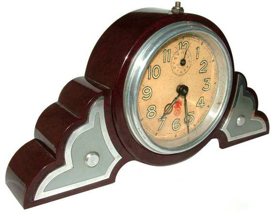 Original 1930s Art Deco Clock