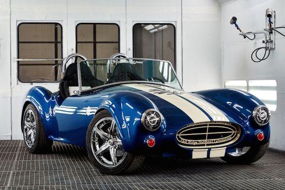 ORNL 3D Printed a Full-scale Shelby Cobra Replica