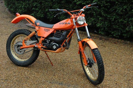 Ossa Tr 80 250 trials bike