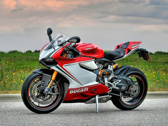 Panigale S at Sunset by Mark T Porter,even if its not the best bike on the grid, it is the sexiest