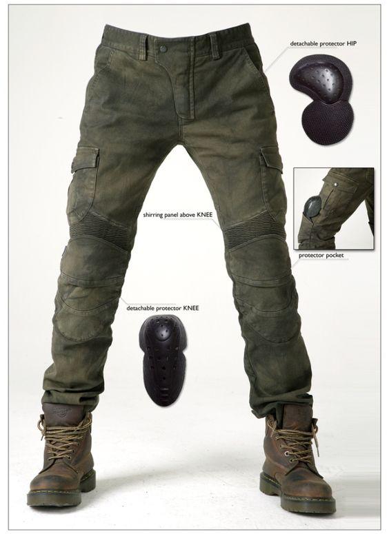 Pantalon moto // Uglybros Motor Pool   4h10