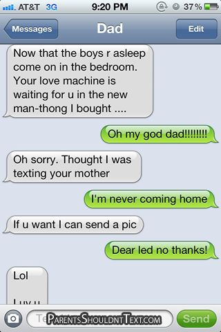 Parents Texting Gone Wrong -- There are some Great ones!