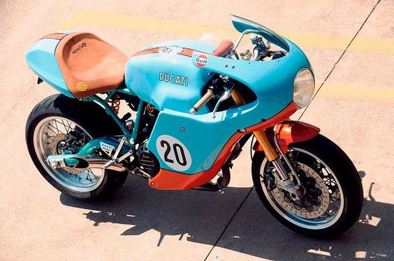 Paul Smart Ducati Sport Classic, in Gulf Oil Livery