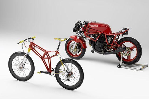Pelagro meets Ducati. #bikes #motorcycles #geometric