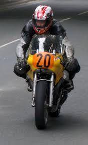Peter Jaermann Moto Guzzi IOM Production TT 1997.
