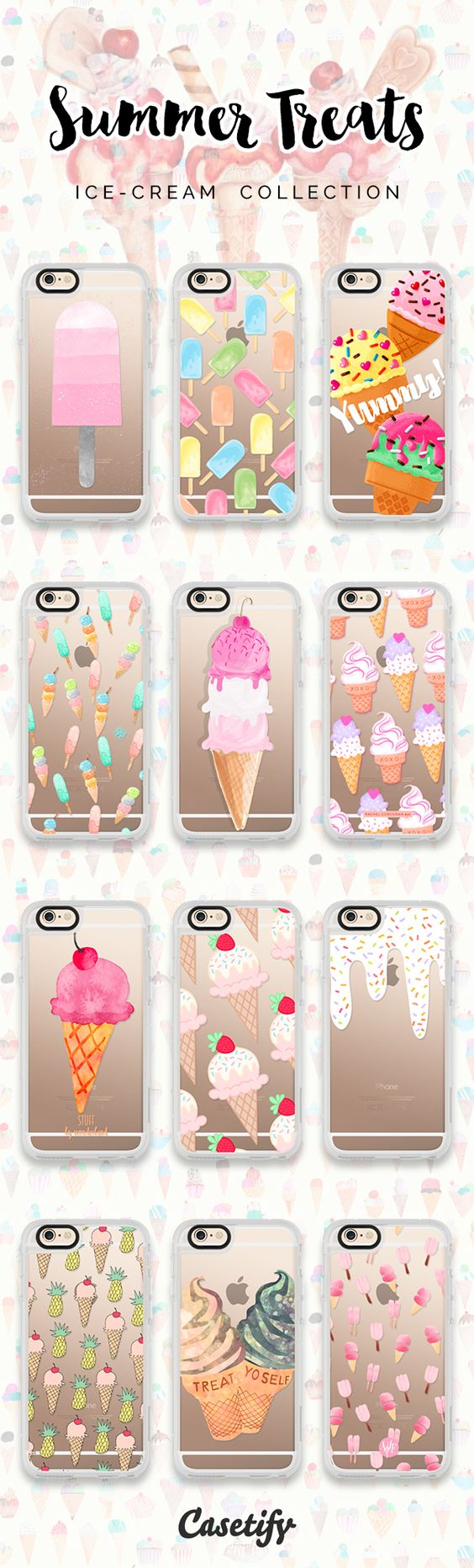 pinterest: @jaidyn grace #Summer Treats. Click through to shop these iPhone 6/6S #Protective Case designs   #phonecase | @Casetify