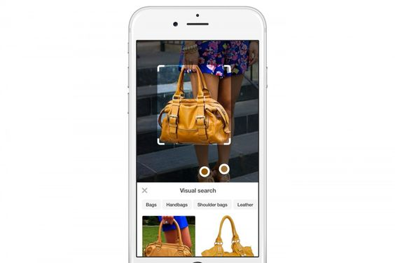 Pinterest unveiled 'camera search' and automatic object detection on Tuesday.