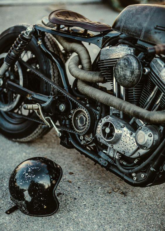 #classic #custom #motorbike - © Laurent Nivalle - Zadig MC