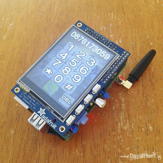 PiPhone: A DIY Raspberry Pi Cellphone