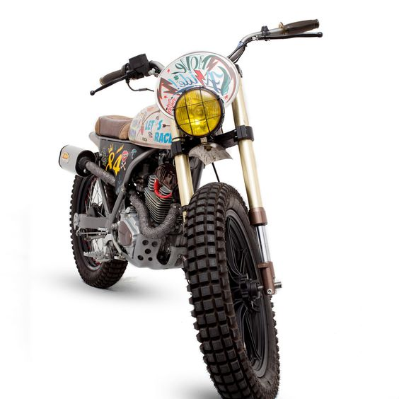 Pretty Fly for a CityFly: Dream Wheels' Honda CLR125   Bike EXIF