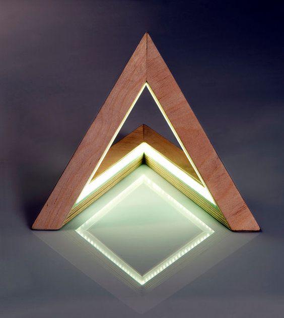 Prismatic Triangle Lamps : Triangle Lamp