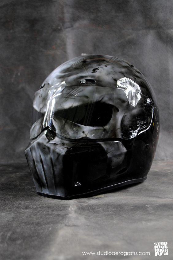 Punisher Motorcycles Helmet. More art: