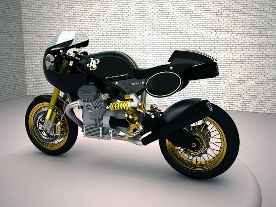 Racing Cafè: Design Corner - Moto Guzzi Le Mans 1400 by Marcocarbon