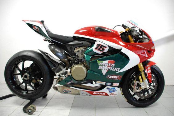 Racing Cafè: Ducati 1199 Panigale RS BSB  Team Moto Rapido 2013