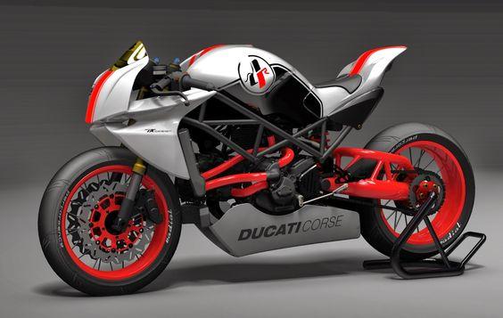 Racing Cafè: Ducati Cafè Racer Bodykit by Paolo Tesio