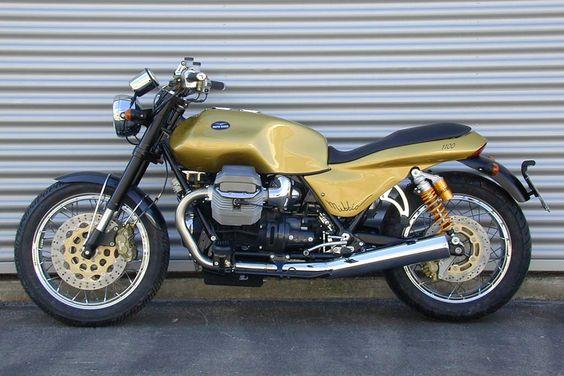 Racing Cafè: Moto Guzzi Nibbio 1100 2006 Concept by Officine Rossopuro