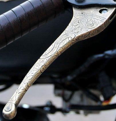 Rajputana Customs - Engraved Levers