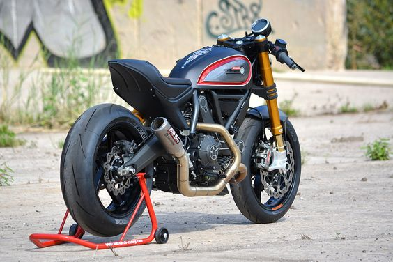 Rapid Custom Ducati Scrambler From WalzWerk Racing!