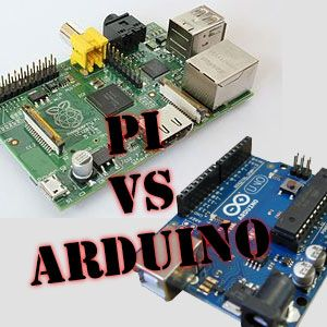 "Raspberry Pi vs Arduino. The Arduino is in fact a micro-controller; not a mini-computer. Although the Arduino can be programmed with small C-like applications, it cannot run a full scale ""operating system"" and certainly won't be replacing your media center anytime soon. The Raspberry Pi on the other hand, is a computer. Adding the Arduino to the Raspberry Pi is a bit like adding a bicycle to an automobile."