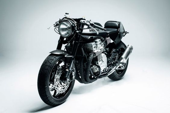 Rebellion Of The Machines: a true Honda CB750 café | Bike EXIF