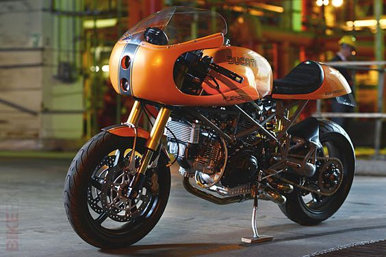 Red Max Speed Shop Ducati Monster