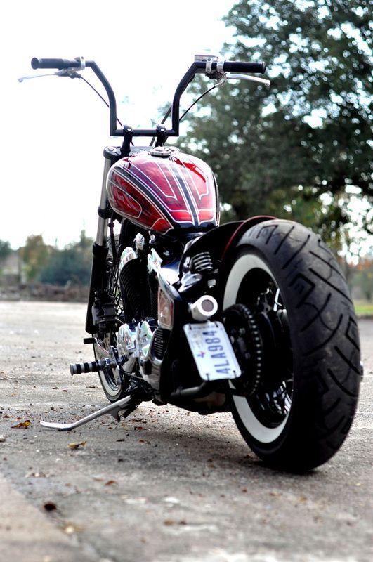 'Red Rum Bobber' Honda VLX600 Shadow