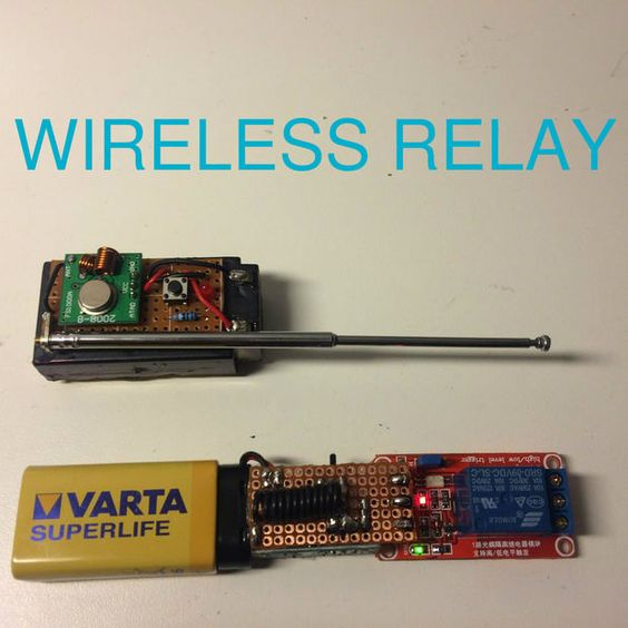 Remote controlled relay