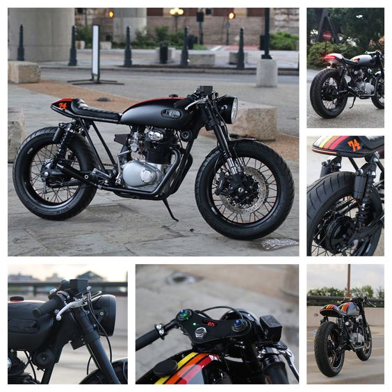 Return of the Cafe Racers: Cognito Moto Fox CB350 Cafe Racer