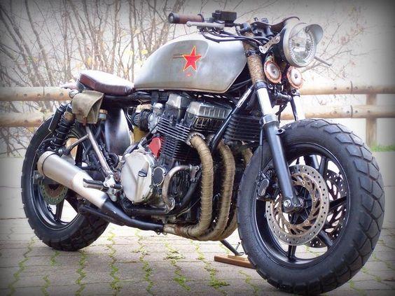 Revolution! Honda CB750 Seven Fifty Rat Bike