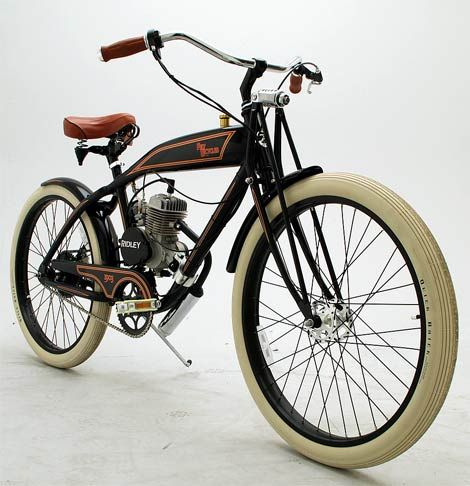 Ridley Vintage Motorized Bicycle