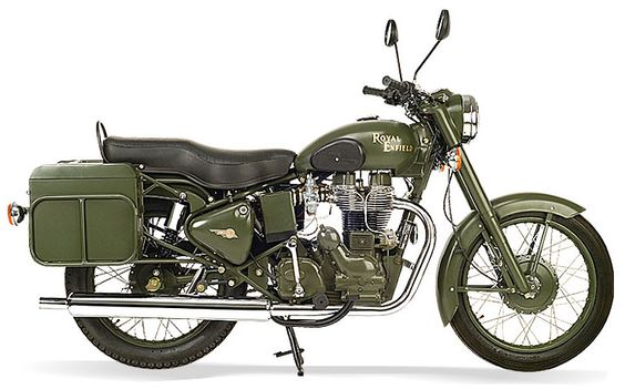 Royal Enfield Bullet 500 | 2006 Royal Enfield Bullet 500 Military Right Side