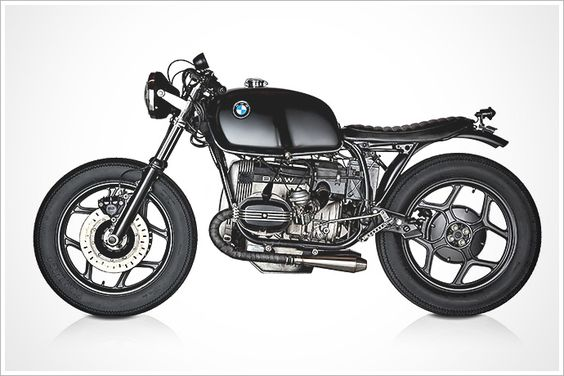 """Rudy Banny's '86 BMW R80RS - """"Brafé Racer"""" - Pipeburn - Purveyors of Classic Motorcycles, Cafe Racers & Custom motorbikes"""