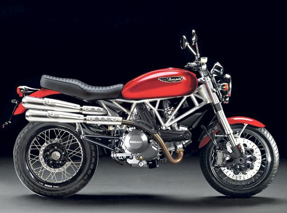 Rumors are circulating that Ducati will release a 796cc Scrambler in 2014. Here's an artists's impression—would you buy one?