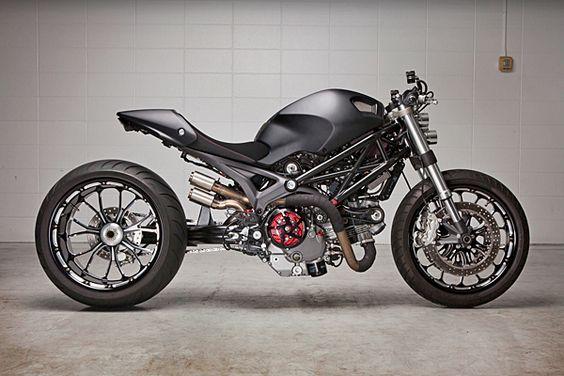 Ryan Danger - Ducati Monster 1100
