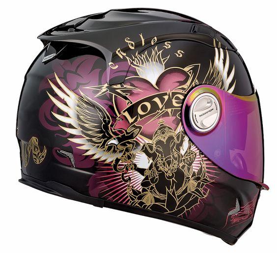 Scorpion EXO-1100 Preciosa Helmet For Women.