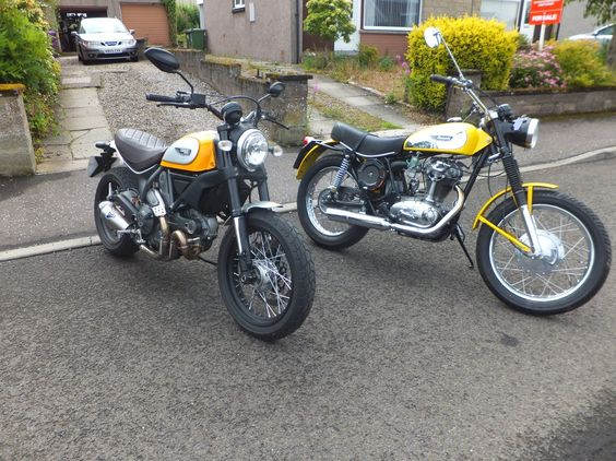 Scramblers - old and new | Ducati Scrambler Forum